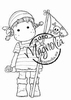 Tilda with Jolly Roger mini