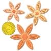 Daisy Flower Topper   setje van 5
