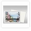 Aquarelbloc glad  10 vel,  200 gr,  24 * 32 cm   per pak