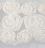 Flower Ribbons off-white big   per zakje