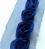 Flower Ribbons Dark Blue   per zakje