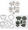 Flowers & Butterflies   per set
