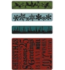 4pk Christmas Borders & Background   per set