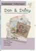 Don & Daisy Kaarten met populaire technieken   per stuk