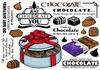 Chocolade   per vel