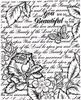 Bella Rose Vintge Background   per stuk
