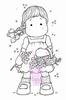 Tilda picking Lilacs  Mini