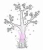 Spring Tree  Mini   per stuk