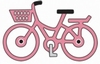 Little Pink Bicycle   per stuk