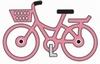 Little Pink Bicycle   per stuk