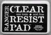 Clear & Resist Inktpad   per stuk