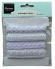 Vintage Lace White   per zakje