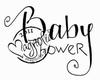 Baby Shower (tekst)   per stuk