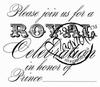 Please join...prince (tekst)   per stuk