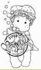 Tilda with bathcap