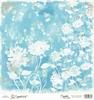 Blue Heartflowers   15 x 15 cm