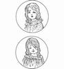 Vintage Ladies  Girls   per set
