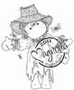 Scarecrow Tilda mini   per stuk