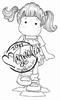 Tilda Playing Hopscotch mini   per stuk