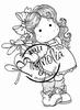Tilda with Daisy mini