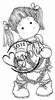 Tilda with Heart Chain mini