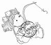 Hooked Tilda   per stuk