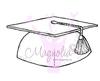 Graduation Cap   per stuk