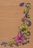 Bloemenrank hoekstempel