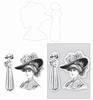 Lady with Hat set