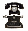 Mini Vintage Telephone & Typewriter set   per stuk