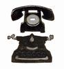 Mini Vintage Telephone & Typewriter set