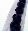 Flower Ribbons Dark Purple