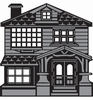 Victorian House   per stuk