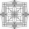 Prismastempel  Square   per stuk