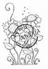 Tilda's Heart Flowers mini