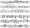 Noten blad / Blad muziek   per stuk