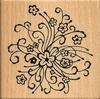Bloemen doodle   per stuk