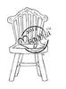 Old Swedish Chair   per stuk