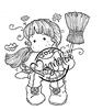 Autumn Tilda with Broom   per stuk