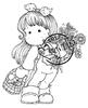 Tilda with Daisy and Mushrooms   per stuk