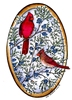 Cardinal Pair on Junipers Oval