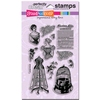 Corset Ladies Perfectly Clear stamps