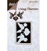 Vintage Flourishes Hart met 2 Duiven