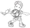 Edwin with Boomerang