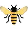 Bee #4   per stuk