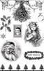 Christmas Classics A5 Stempelvel Eco Friend