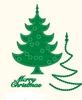 Kerstboom   per set