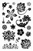 Clear-stamp set A6 Bloemen 2