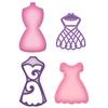 Decorative Dress Forms   setje van 4