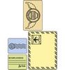 Mail set   setje van 4
